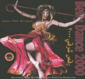 Belly Dance 2000 with Mesmera, Belly Dance CD image