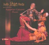 "Judy ""Jihan"" Reda's Egyptian Cabaret Music, Belly Dance CD image"
