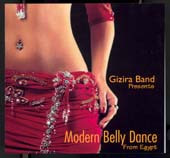 Modern Belly Dance, Belly Dance CD image