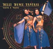 Belly Dance Fantasy w/ Veena & Neena, Belly Dance CD image