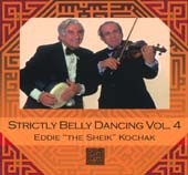 Strictly Belly Dancing Volume 4, Belly Dance CD image