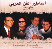 Arabian Legends, Belly Dance CD image