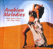 Arabian Melodies, Belly Dance CD image