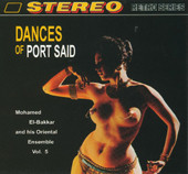 Dances of Port Said by Mohammed el Bakkar, Belly Dance CD image