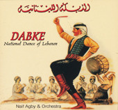Dabke - National Dance of Lebanon, Belly Dance CD image