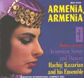 Armenia, Armenia, Belly Dance CD image