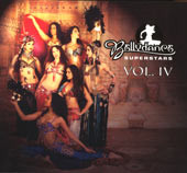 Bellydance Superstars Vol. IV, Belly Dance CD image