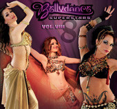 Bellydance Superstars Vol. VIII, Belly Dance CD image
