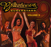 Bellydance Superstars Vol. IX, Belly Dance CD image
