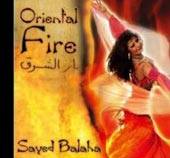 Oriental Fire, Belly Dance CD image