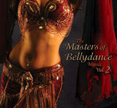 The Masters of Bellydance Music Vol. 2, Belly Dance CD image
