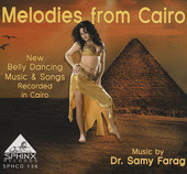 Melodies from Cairo, Belly Dance CD image