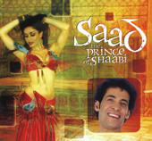 Saad The Prince of Sha'abi, Belly Dance CD image
