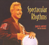 Spectacular Rhythms, Belly Dance CD image