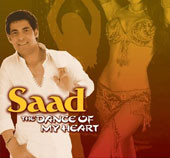 Saad The Dance of My Heart, Belly Dance CD image
