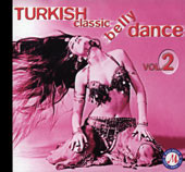 Turkish Classic Belly Dance vol. 2, Belly Dance CD image