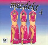 Mezdeke 4, Belly Dance CD image