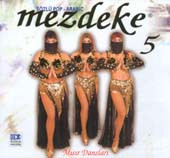 Mezdeke 5, Belly Dance CD image