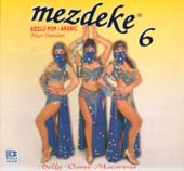 Mezdeke 6, Belly Dance CD image