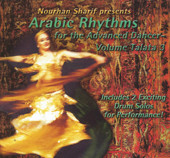 Arabic Rhythms for the Advanced Dancer Vol. Talata 3, Belly Dance CD image
