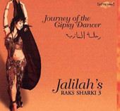 Journey Of The Gypsy Dancer, Belly Dance CD image