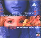 Oriental Magic Dance Vol 3 / Salah Eddine, Belly Dance CD image