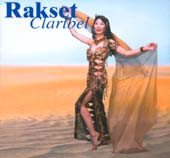 Rakset Claribel, Belly Dance CD image