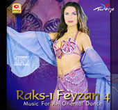 Raks-I Feyzan 4, Belly Dance CD image
