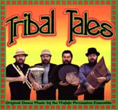Tribal Tales, Belly Dance CD image