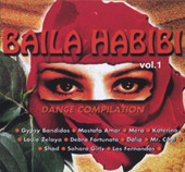 Baila Habibi Vol. 1, Belly Dance CD image