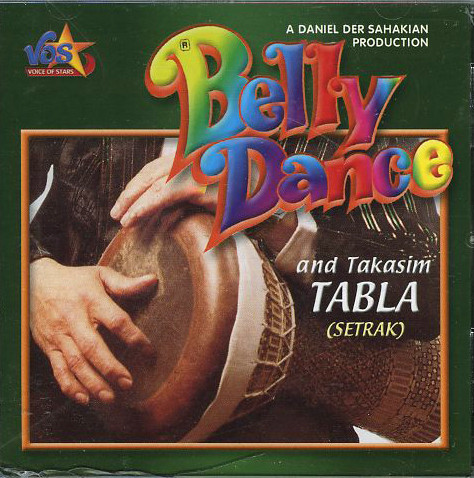 Belly Dance with Setrak, Belly Dance CD image