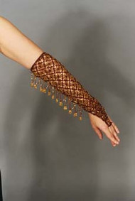 CROCHETED SPARKLE SLEEVES for Belly Dance image