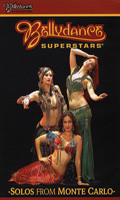 Bellydance Superstars Solos from Monte Carlo, Belly Dance DVD image