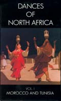 Dances of North Africa Volume 1, Belly Dance DVD image