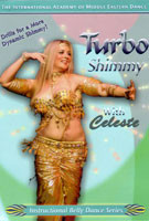 Turbo Shimmy with Celeste, Belly Dance DVD image
