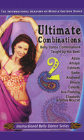 Ultimate Combinations Vol. 2, Belly Dance DVD image