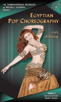Egyptian Pop Choreography with Jillina, Belly Dance DVD image