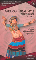 American Tribal Style Belly Dance, Vol. 2 with Kajira Djoumahna, Belly Dance DVD image