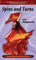 Spins and Turns with Marguerite, Belly Dance DVD image