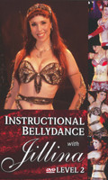 Instructional Belly Dance with Jillina: Level 2, Belly Dance DVD image
