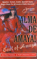 La Alma De Amaya, Belly Dance DVD image