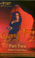 Amaya's Gypsy Fire 2, Belly Dance DVD image