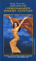 Rania Presents…Advanced Choreography: Modern Egyptian, Belly Dance DVD image