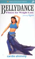 Cardio Shimmy, Belly Dance DVD image