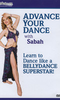 Advance Your Dance with Sabah, Belly Dance DVD image