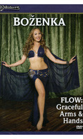 FLOW: Graceful Arms & Hands by Bozenka, Belly Dance DVD image