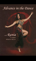 Advance in the Dance w/Rania, Belly Dance DVD image