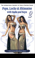 Pops, Locks & Shimmies 2, Belly Dance DVD image