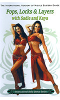Pops, Locks & Layers with Sadie and Kaya, Belly Dance DVD image