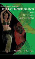 Belly Dance Basics and Beginner Combinations, Belly Dance DVD image